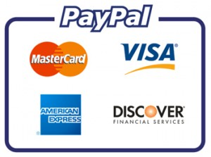 Paypal and Credit Card