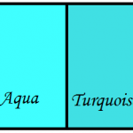 Difference Between Aqua and Turquoise
