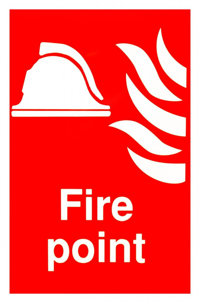 Key Difference Between Flash Point and Fire Point
