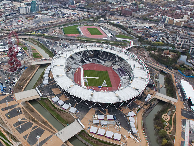 Difference Between Stratford Before Olympics and After Olympics 2012
