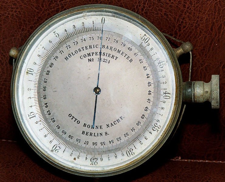 Difference Between Barometric Pressure and Atmospheric Pressure