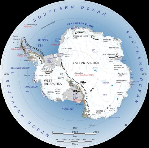 Antarctic vs Antarctica