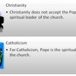 Difference Between Christianity and Catholicism