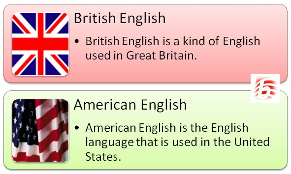 Difference Between British English and American English