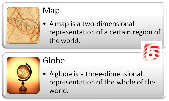 Difference Between Map and Globe