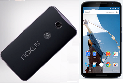 Difference Between Google Nexus 6 and Apple iPhone 6 Plus - Nexus 6 Image