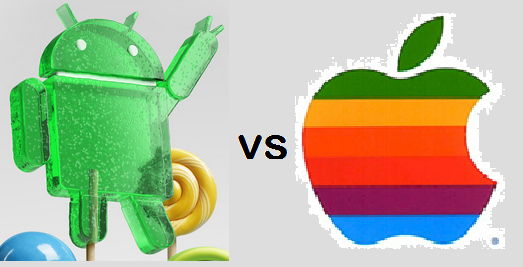 Difference Between Android 5.0 Lollipop and iOS 8.1
