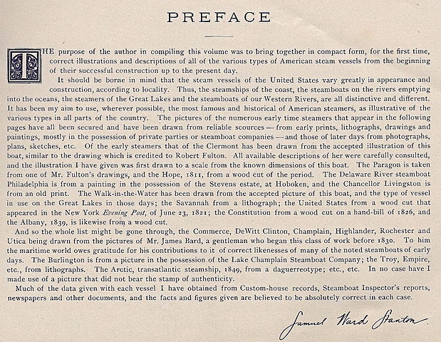 Prologue vs Preface