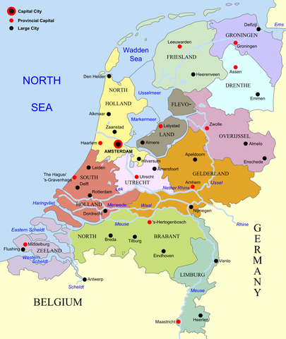 Difference Between Netherlands and Holland
