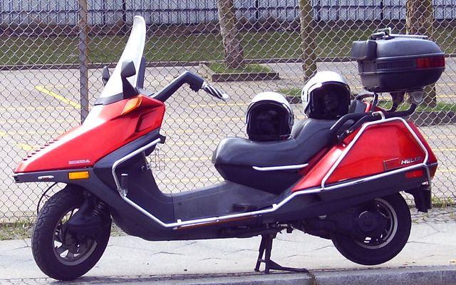 Scooter vs Motorbike