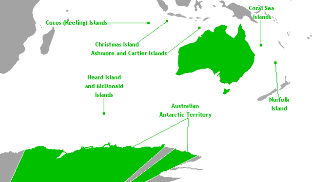 Australian States vs Territories