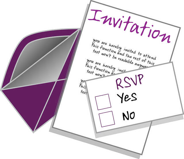 RSVP vs Invitation