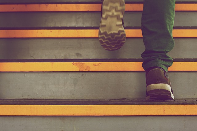 Steps vs Stairs
