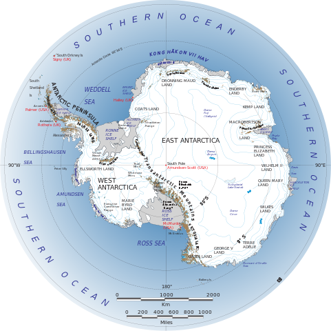 Antarctic vs Antarctica