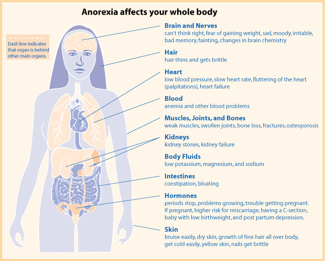 Difference Between Anorexia and Anorexia Nervosa