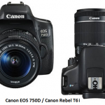 Difference Between Canon 750D and 760D