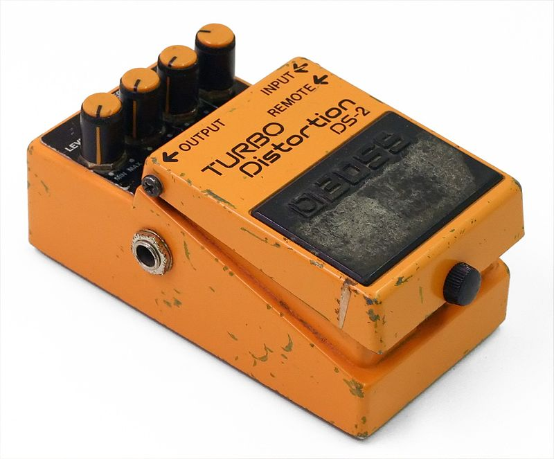 Difference Between Distortion and Overdrive-distortion
