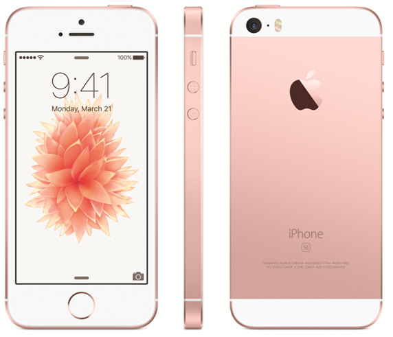 Difference Between iPhone SE and 5S