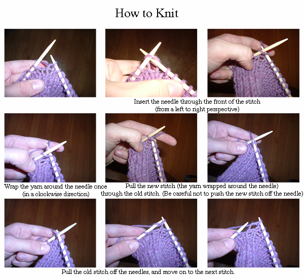 Difference Between Knit And Purl Knit Vs Purl