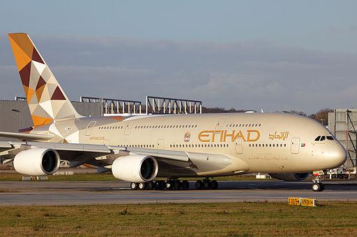 Difference Between Qatar Airways and Etihad Airways_Etihad A380