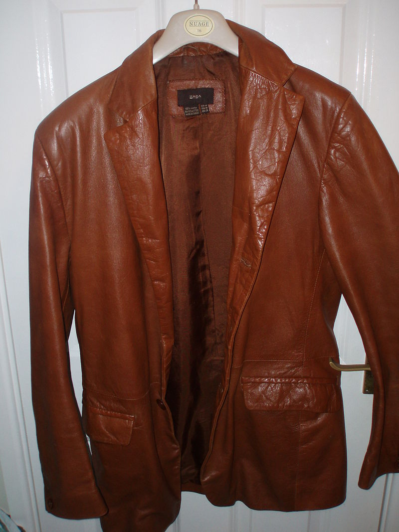 Как освежить кожаную куртку в домашних условиях