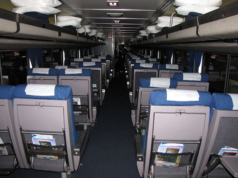 Amtrak Coach And Business Class