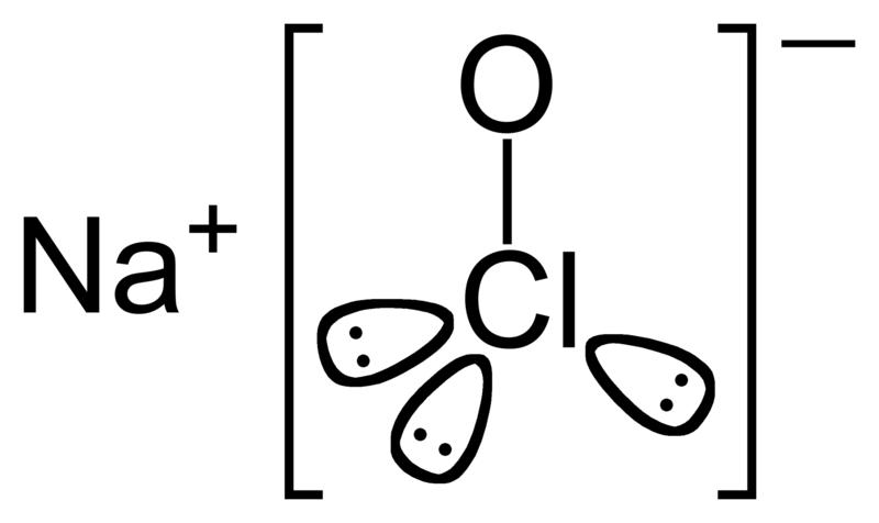 Key Difference - Sodium Chlorite vs Sodium Hypochlorite