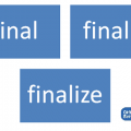 Difference Between final finally and finalize in Java