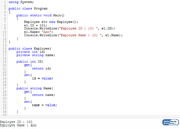 Key Difference Between Field and Property in C#
