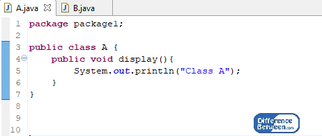 Difference Between Package and Interface in Java