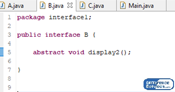 Difference Between Package and Interface in Java_Figure 4