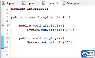 Difference Between Package and Interface in Java_Figure 5