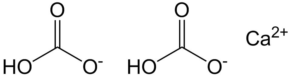Key Difference Between Calcium Carbonate and Calcium Bicarbonate