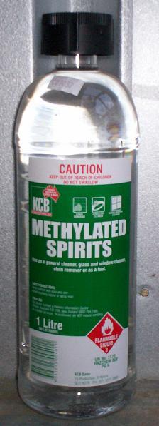 Key Difference - Acetone vs Methylated Spirits