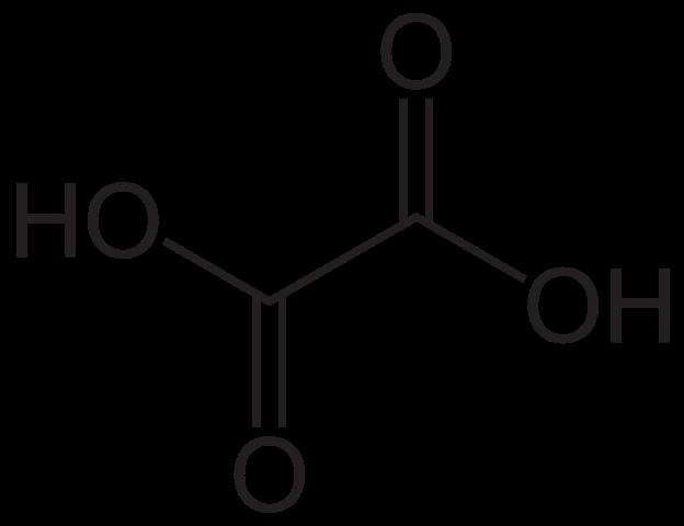 Key Difference - Oxalate vs Oxalic Acid