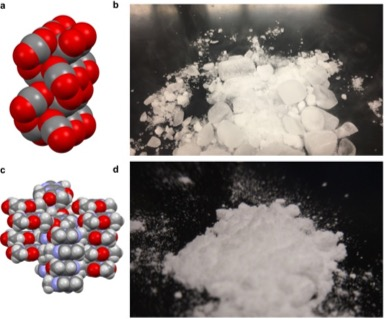 Key Difference - Molecular Solid vs Covalent Network Solid