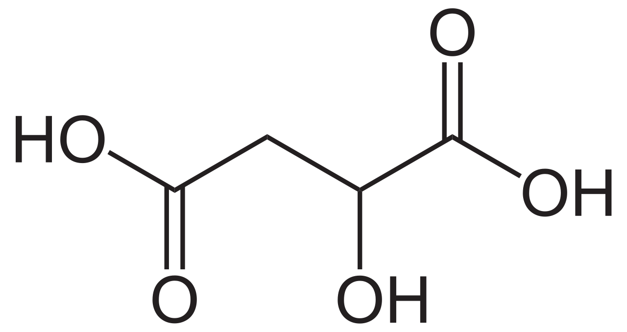 Difference Between Malic Acid and Maleic Acid
