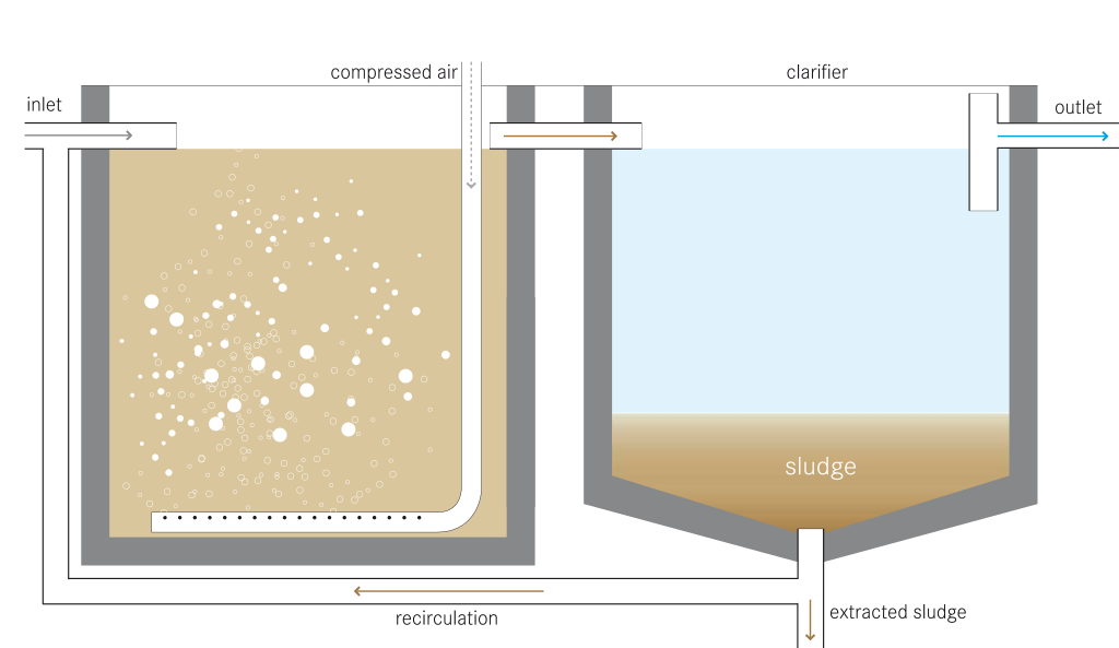 Difference Between Activated Sludge and Trickling Filter