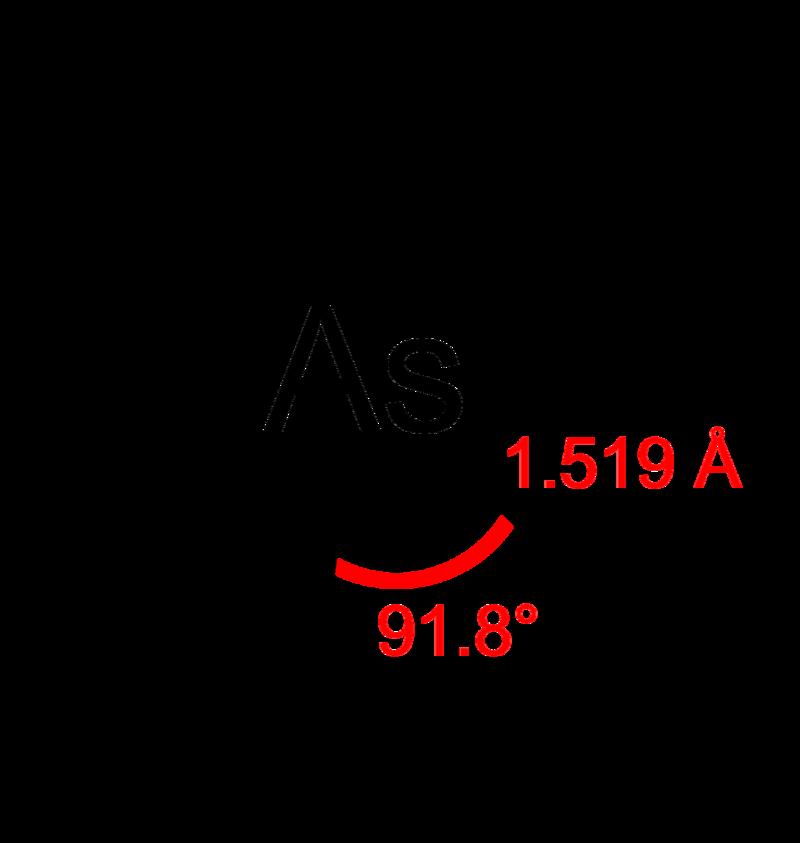 Key Difference - Arsenic vs Arsine
