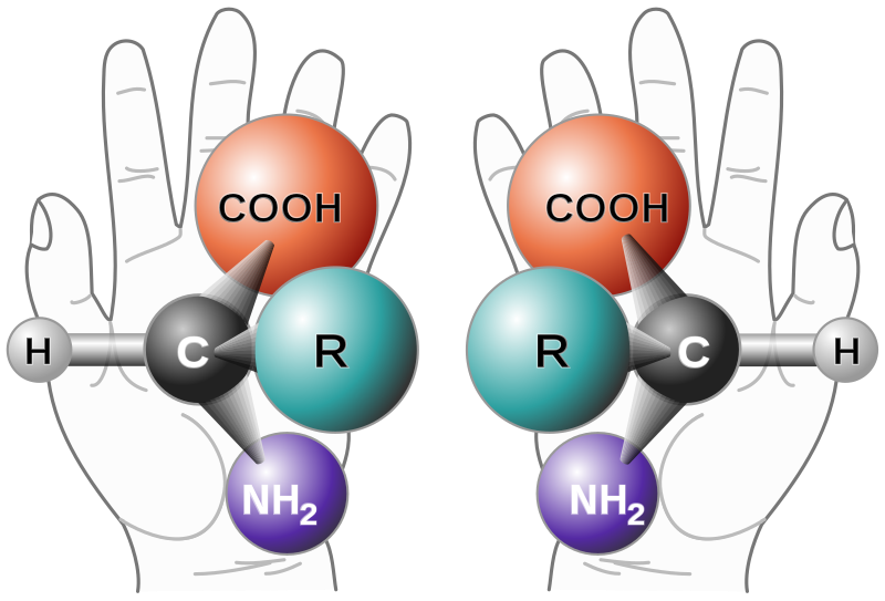 Difference Between Chirality and Helicity