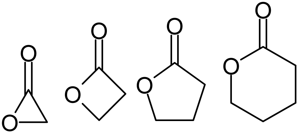 Difference Between Lactide and Lactone