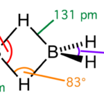 Difference Between Borazine and Diborane