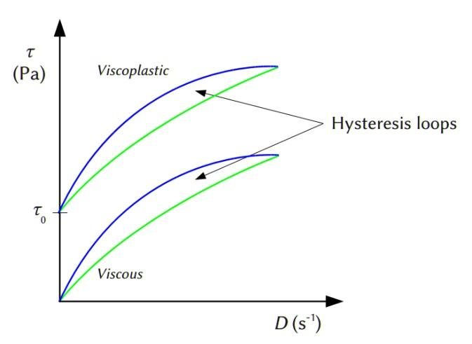 Difference Between Thixotropic and Rheopectic Fluids