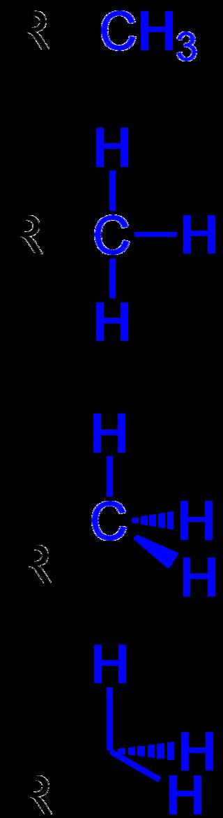 Key Difference - Methyl vs Methylene Group