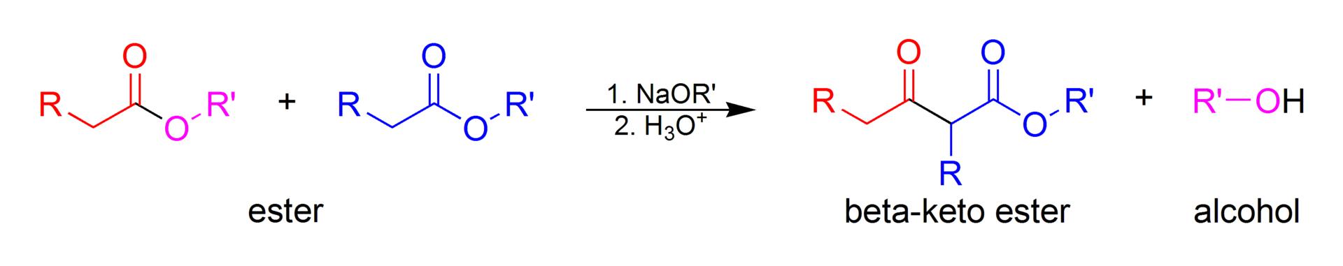 Difference Between Aldol Condensation and Claisen Condensation