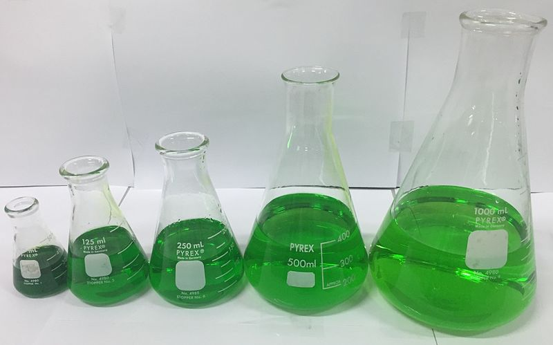 Difference Between Beaker and Erlenmeyer Flask