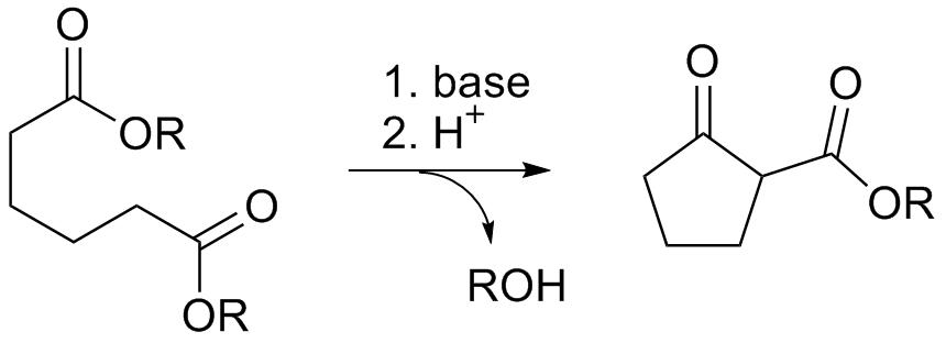 Key Difference - Claisen vs Dieckmann Condensation