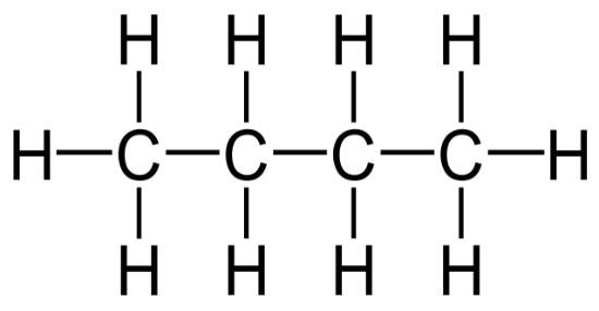 Difference Between N-butane and Cyclobutane