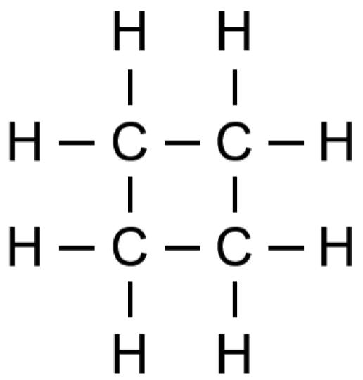 Key Difference N-butane vs Cyclobutane