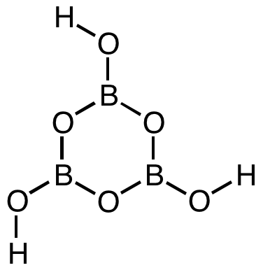 Difference Between Orthoboric Acid and Metaboric Acid